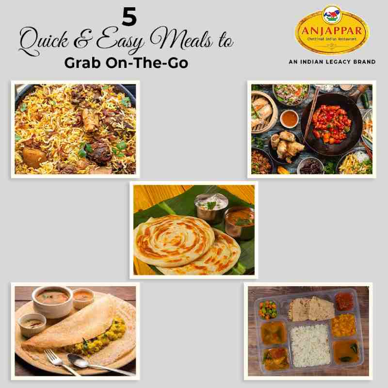 5 Quick & Easy Meals to Grab On-The-Go